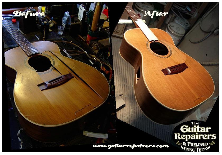 Maton EBG808L Restoration