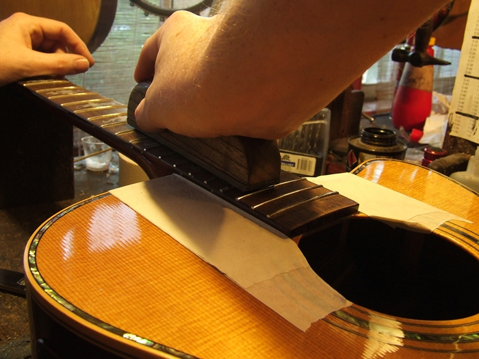 Guitar Fret level and Crown