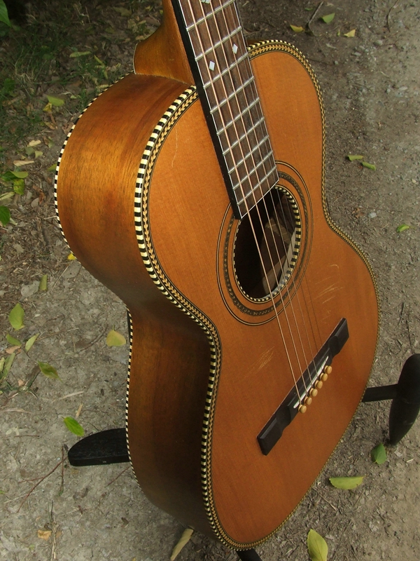 708f2f40f7 Oakland Vintage Parlor 1927 Harmony Parlor Guitar